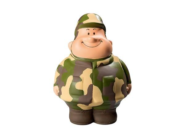 Knautschfigur Gefreiter Bert