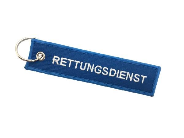 Schlüsselanhänger RETTUNGSDIENST
