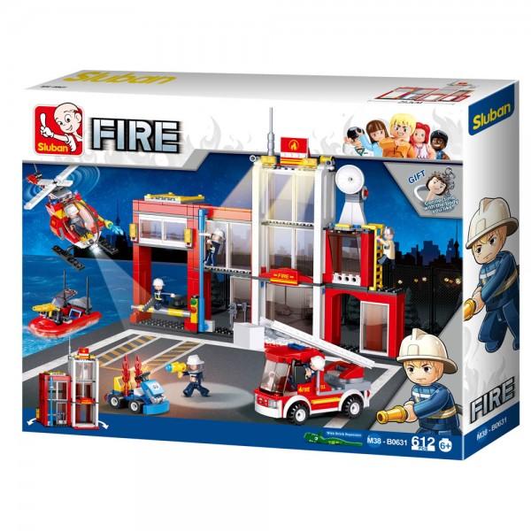 Konstruktionsspielzeug Feuerwache