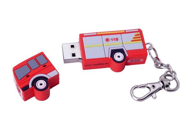 USB-Stick Feuerwehrwagen 8 GB