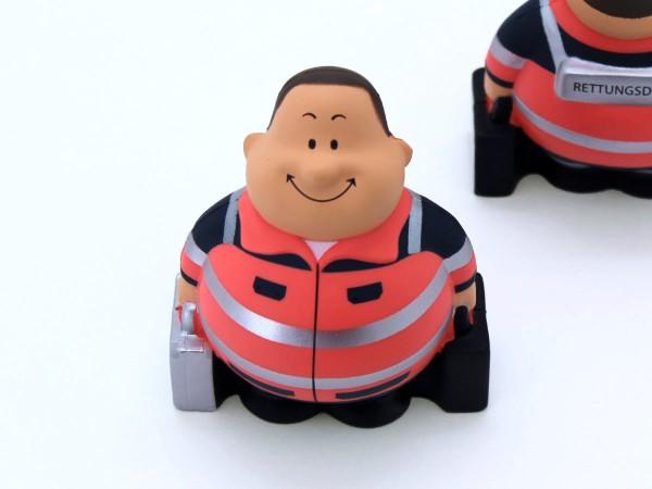 Knautschfigur Notfall Bert, leuchtrot