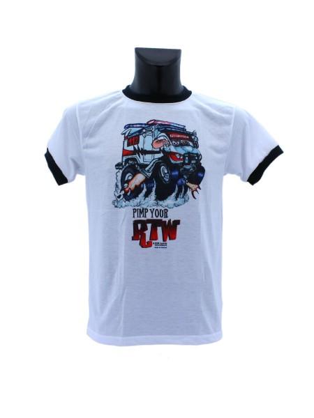 """T-Shirt """"Pimp your RTW"""", weiß"""